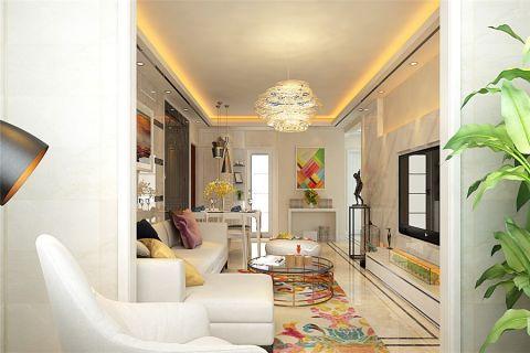 客厅现代风格效果图
