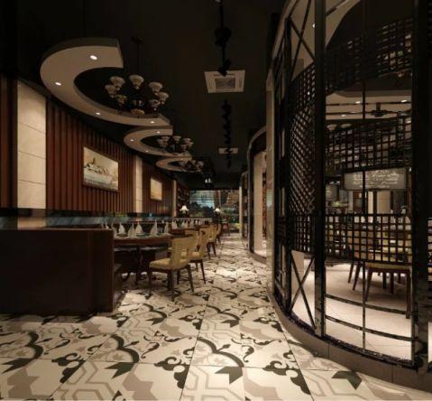 乐原时尚餐厅装修效果图