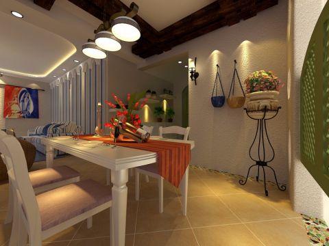 2020地中海120平米装修效果图片 2020地中海三居室装修设计图片