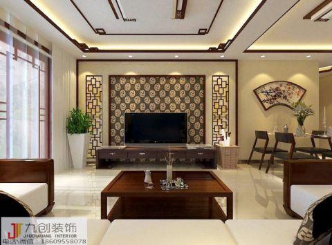 2020现代简约90平米效果图 2020现代简约二居室装修设计