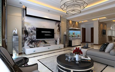 2020现代110平米装修图片 2020现代楼房图片