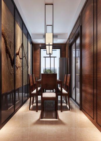 餐厅吊顶中式风格装潢设计图片