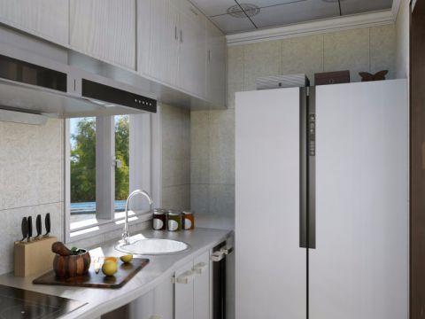 厨房背景墙简中风格效果图