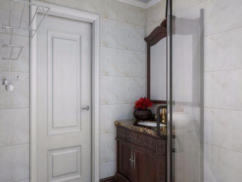卫生间背景墙简中风格装修图片