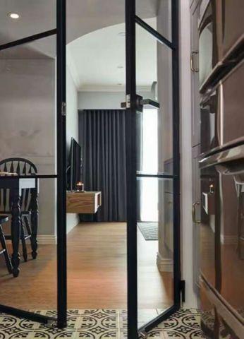 客厅推拉门后现代风格装修效果图