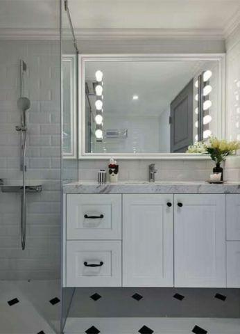 卫生间洗漱台后现代风格装修设计图片