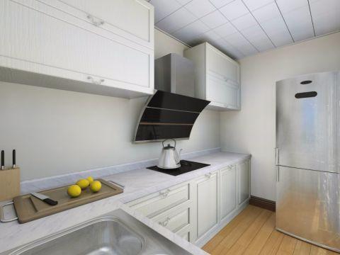 厨房背景墙欧式风格装修图片