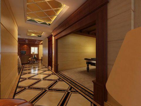 玄关背景墙经典风格装修设计图片