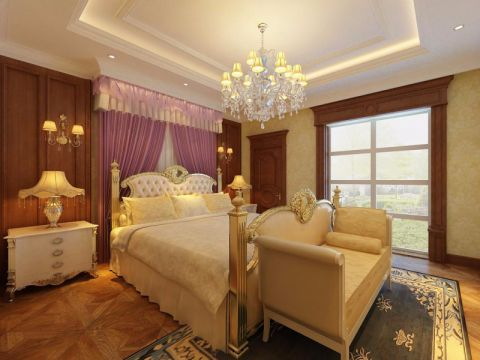 卧室吊顶经典风格装饰设计图片