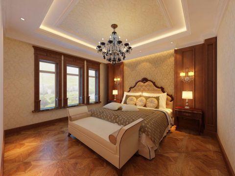 卧室背景墙经典风格效果图
