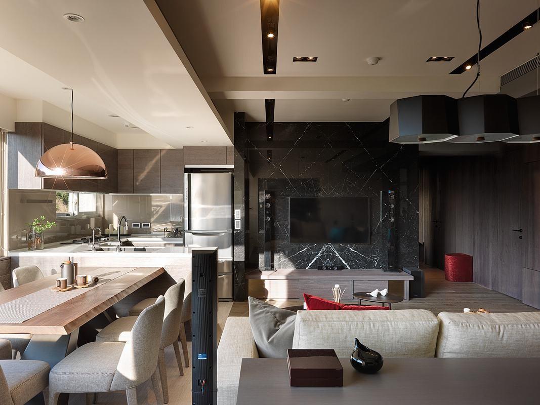 2室1卫1厅70平米现代简约风格