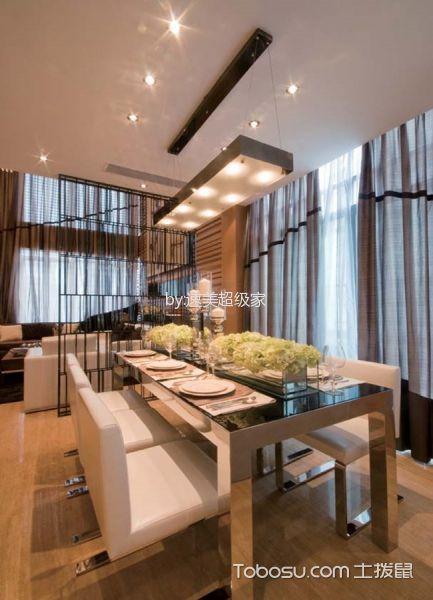 2020现代中式餐厅效果图 2020现代中式吊顶设计图片