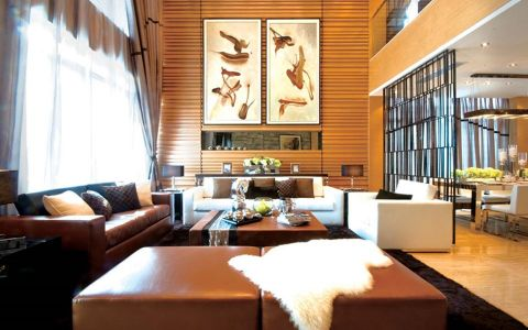 江门山湖雅苑现代中式风格
