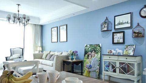 2020美式120平米裝修效果圖片 2020美式公寓裝修設計