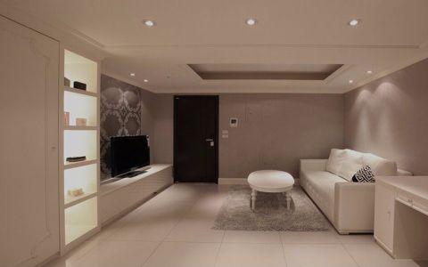 2020簡約50平米裝修圖片 2020簡約一居室裝飾設計