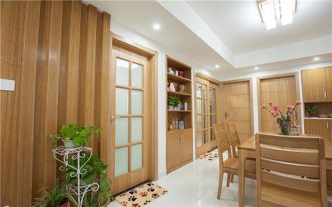 玄关背景墙现代简约风格装饰图片