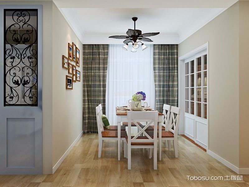 2021韩式100平米图片 2021韩式三居室装修设计图片