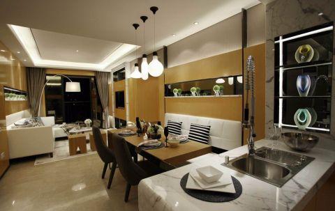 2019现代110平米装修图片 2019现代二居室装修设计