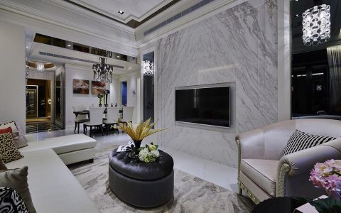 2020新古典150平米效果图 2020新古典公寓装修设计