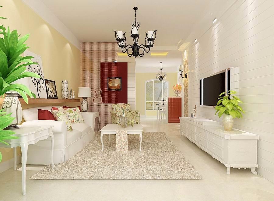 2室1卫1厅90平米美式风格
