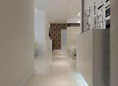 玄关背景墙现代简约风格装潢效果图
