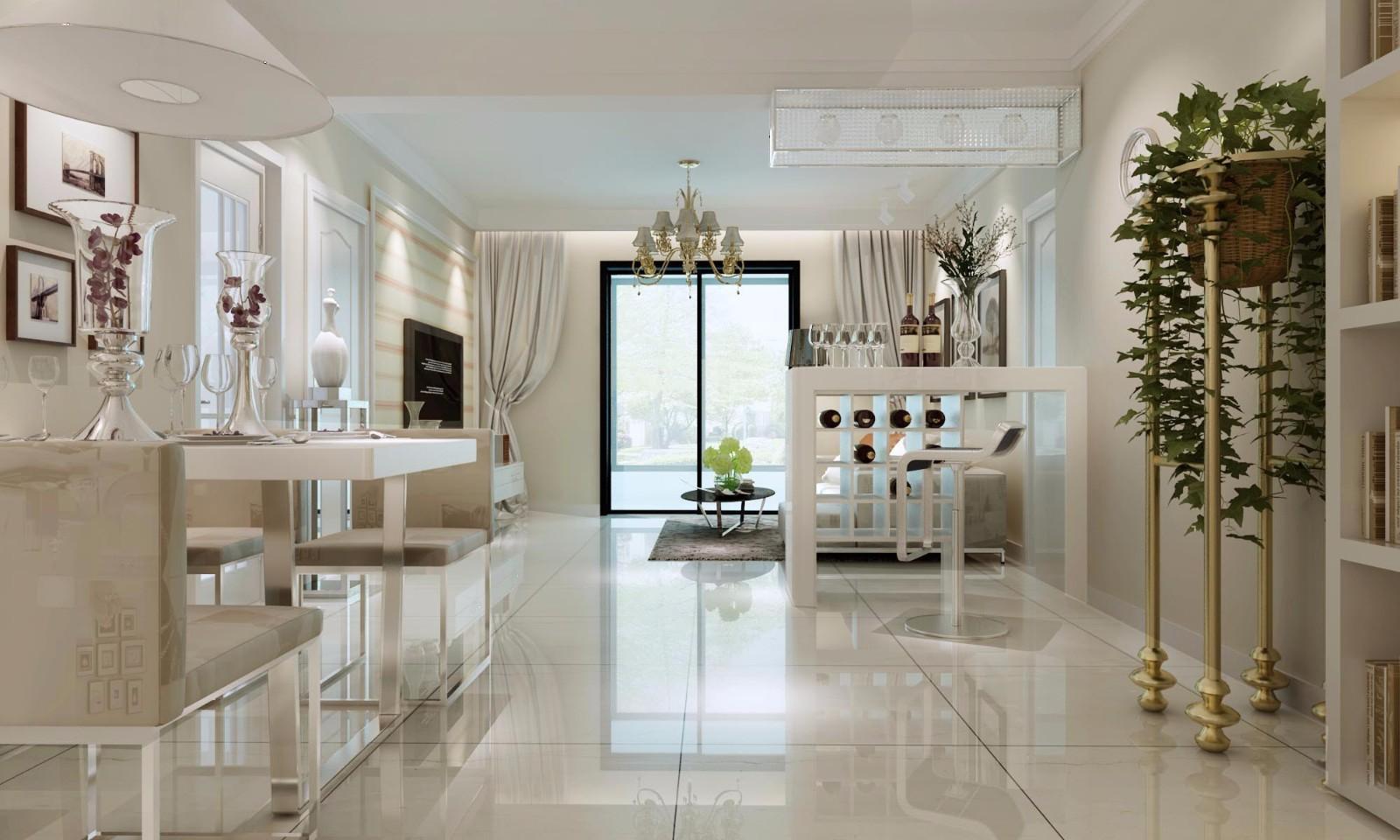 3室1卫2厅88平米现代简约风格