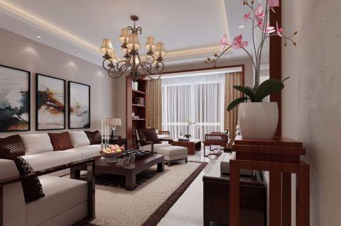 雅居乐·海珠小雅中式二居室风格效果图