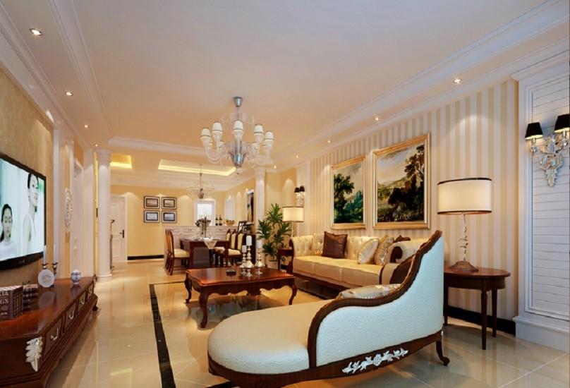 3室2卫1厅150平米古典风格