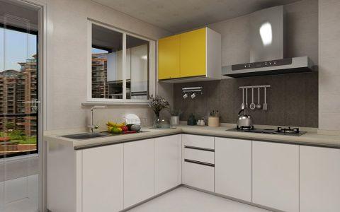 厨房北欧风格装潢图片