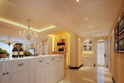 客厅走廊古典风格装潢设计图片