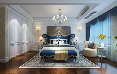 雨润城美式风格三居室效果图