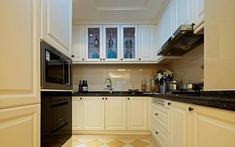 厨房背景墙新古典风格装饰图片