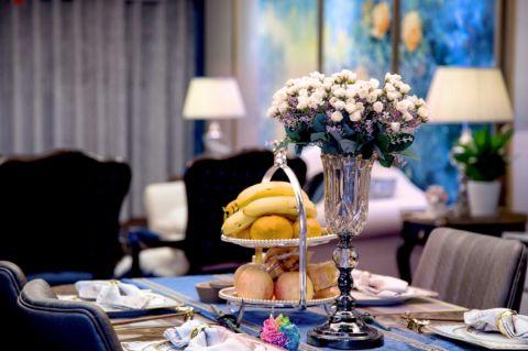 餐厅窗帘混搭风格装潢效果图