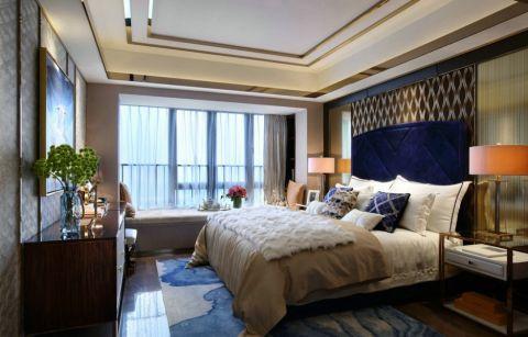 卧室窗帘简单风格装修设计图片