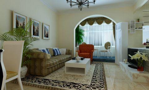简约风格90平米复式室内装修效果图