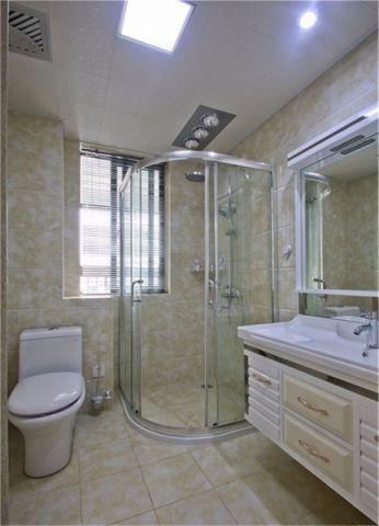 龙湖名景台130方欧式三居室效果图