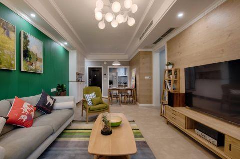 2019北欧100平米图片 2019北欧三居室装修设计图片