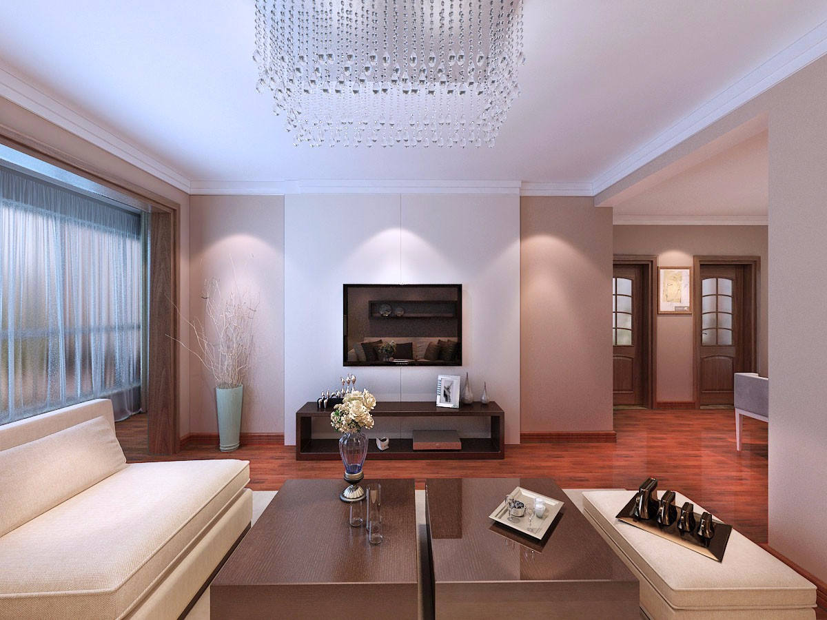 2室1卫2厅137平米简欧风格