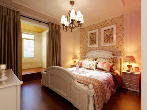 富力惠兰美居三居室简美风格效果图