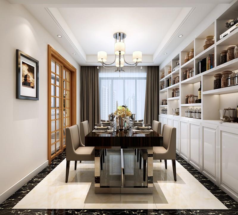3室2卫2厅125平米现代简约风格