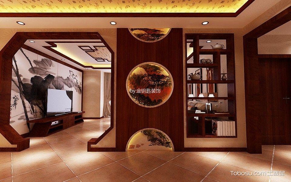 府东公馆140平新中式风格效果图