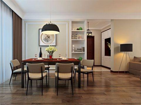 加桥悦山国际日式风格三居室装修效果图