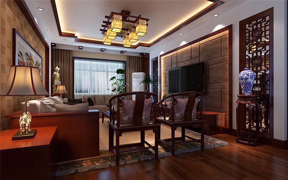 3室2卫2厅133平米新中式风格