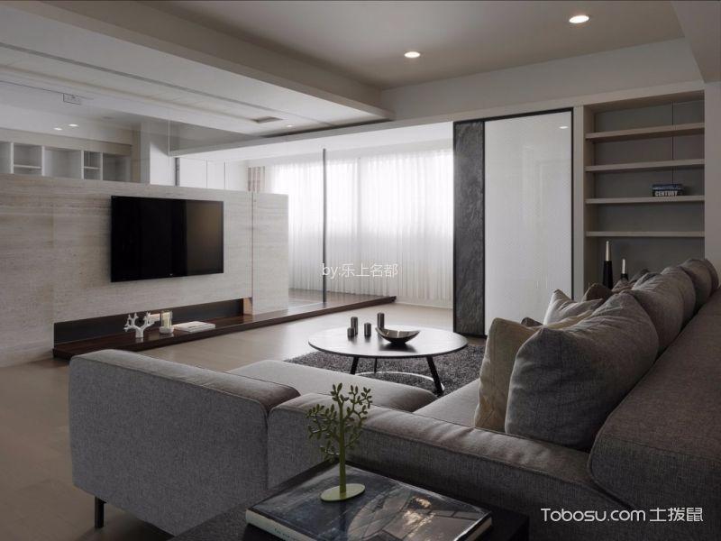 世华水岸四居室现代简约风格装修效果图