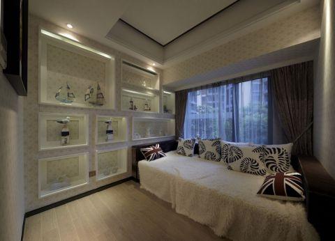 晓港湾简约三居室风格效果图
