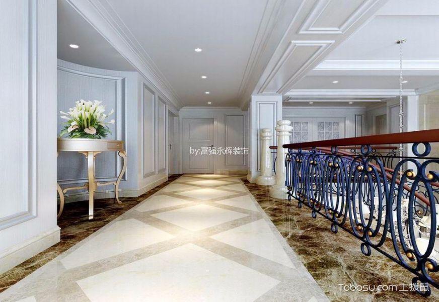 玄关白色走廊简欧风格装修效果图