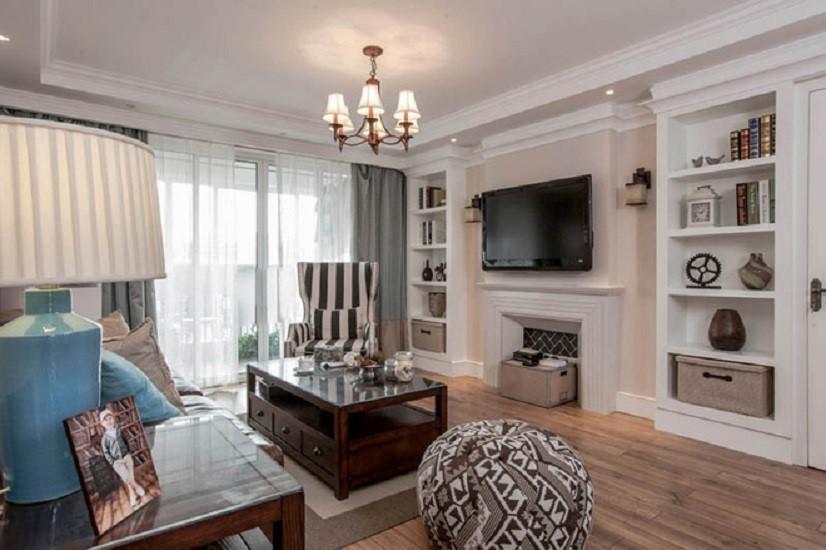 3室2卫1厅140平米美式风格