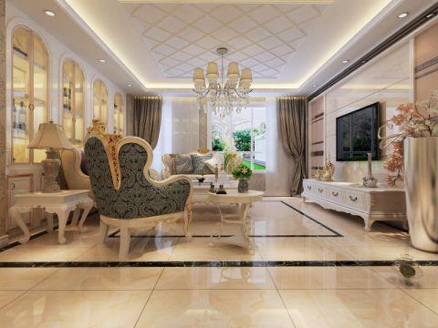 简欧风格100平米两室两厅新房装修效果图
