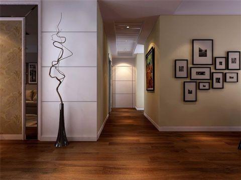 琥珀五环城现代简约风格三居室装修效果图