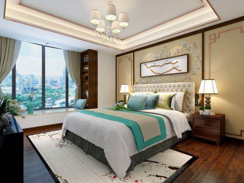 新中式风格170平米大户型新房装修效果图